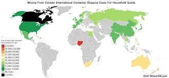 2019 International Conatiner Shipping Rates Costs