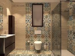 Patterned Floor Tiles Bathroom 20x20 Antalya Multi Colour Pattern Tile Choice