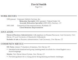Sample Resume Generalist Human Resources p1 Sample Resume Generalist Human  Resources p2