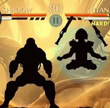 shadow fight 2 flame clubs weapon shadow vs titan youtube