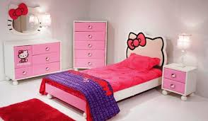 Images Of Hello Kitty Bedrooms Hello Kitty 4 Piece Bedroom Set Hello Kitty  Decorations For Room