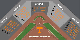University Of Tennessee Seating Chart Tennessee Fund Baseball Mvp Seats