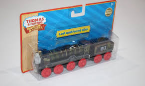 thomas the tank engine wooden railway lost and found hiro new in box