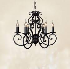 black chandelier lighting photo 5. Black Wrought Iron Modern Chandelier Lighting 5/6 Heads E14 Hotel/foyer/living Photo 5 E