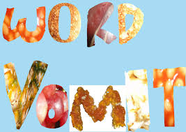 the word food made out of food. Fine Out Typography Project WORD VOMIT Above Is The Words  Inside The Word Food Made Out Of M