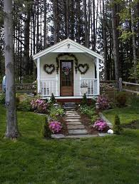 Pin by Kristin Forester on A place to create | Shed decor, She sheds, Play  houses