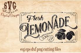 Silhouette Designs For Sale Vintage Fresh Lemonade For Sale Svg Dxf Png Eps Cut File