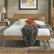 Sylvia Queen Size Mid-Century Wood Panel Bed by iNSPIRE Q Modern - Free  Shipping Today - Overstock.com - 24177734