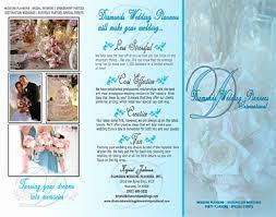 Wedding Brochure Template Elegant Valentines Day Wedding Brochure