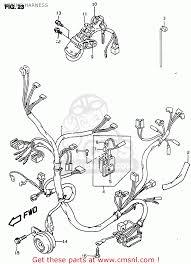 suzuki ay50wr 1999 (x) wiring harness schematic partsfiche suzuki katana wiring diagram wiring harness schematic Suzuki Katana Wiring Diagram
