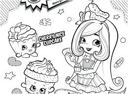 Shopkins Coloring Pages To Print Free Coloring Pages Printable