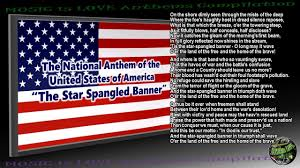 United States National Anthem ...