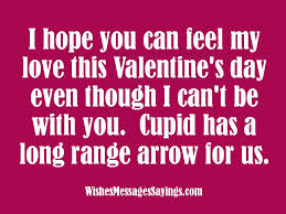 valentine message for a loved one i hope you can feel