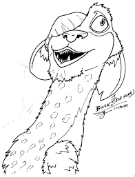 Ice Age Coloring Pages - GetColoringPages.com