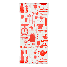 Wallpaper For Kitchen Airfix Kitchen Wallpaper Red By Victoria Eggs Notonthehighstreetcom