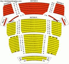 Bushnell Ct Seating Chart Performing Arts Center Online Charts Collection