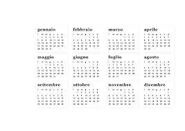 Calendario Annuale Fai Da Te Da Tavolo