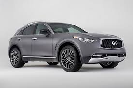 infinity jeep. 2017 infiniti qx70 limited front quarter photo infinity jeep