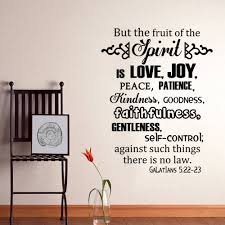the fruits of the spirit galatians 5 22 23 scripture vinyl wall intended for newest