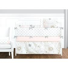 moon bedding set sweet designs blush pink gold grey and white star and moon celestial collection moon bedding