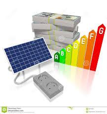 Solar Panels Concept Stock Illustration Illustration Of