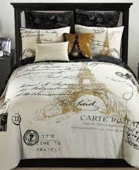 paris bedding bedroom comforter sets