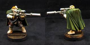 Marines Scout Sniper Requirements Space Marine Scout W Sniper Rifle Minipainting