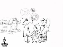 biggest collection of best diwali drawing for kids 2018 beautiful happy diwali colouring pages