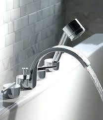 roman tub faucets with hand shower delta deck mount tub faucet unusual ideas deck mount bathtub