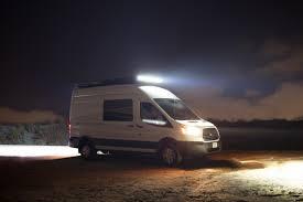 Van Light Bars Adding Light Bars To The Roof Rack Moreys In Transit