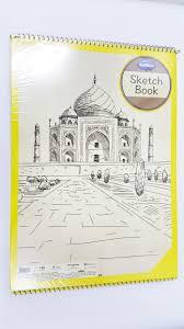 navneet sketch book a3 size