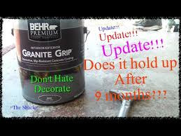 Behr Granite Grip Color Chart Update How To Paint A Patio With Behr Granite Grip Floor