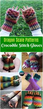Dragon Scale Fingerless Gloves Pattern Free Best Decorating Design