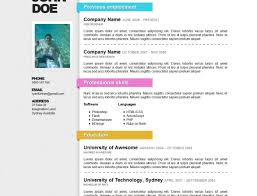 Create Your Resume Online Resume Template