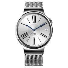 huawei smartwatch black. huawei w1 interchangeable strap smartwatch - product number 5210372 black