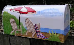 painted mailbox designs. Unique Painted Hand Painted Mailbox For Painted Mailbox Designs