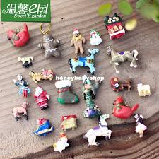Micro Moss Garden Landscape Doll Mini Christmas Tree Ornaments ...