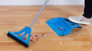 a whole new take on the dustpan and broom