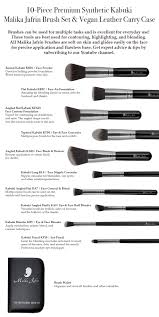 this is why most people have so many diffe types of makeup brushes to create their