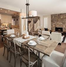 rustic dining room design. Calm And Airy Rustic Dining Room Designs Design I