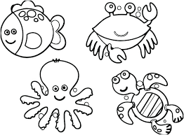 free printable coloring pages ocean animals – rescuefriends.info
