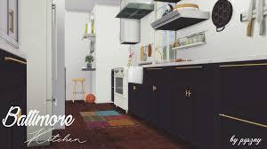 Pyszny Design Sims 4 Baltimore Kitchen By Pyszny Liquid Sims
