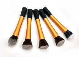 promotion makeup brushes set tools metal handle professional make up face brush kabuki brush care foundation brush best makeup foundation brush set