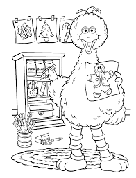 Sesame Street Coloring Pages Free Printable Coloring Pages