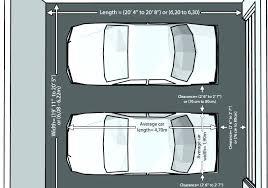 average size 2 car garage 2 car garage size average 2 car garage size average size