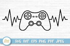 Find gifs with the latest and newest hashtags! Game Controller Cut File Graphic By Magicartlab Creative Fabrica