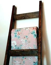 quilt rack ladder quilt rack rustic ladder quilt rack wood blanket handmade towel farmhouse shabby chic quilt rack wooden