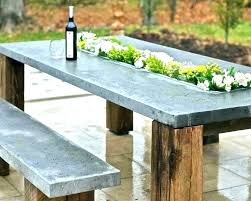 full size of concrete outdoor table diy top dining coffee modern patio and furniture medium size