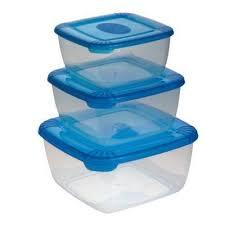 <b>Набор контейнеров для СВЧ</b> Polar пластиковые квадратные ...