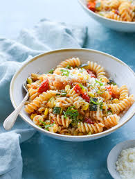 Summer Pasta Primavera Once Upon A Chef